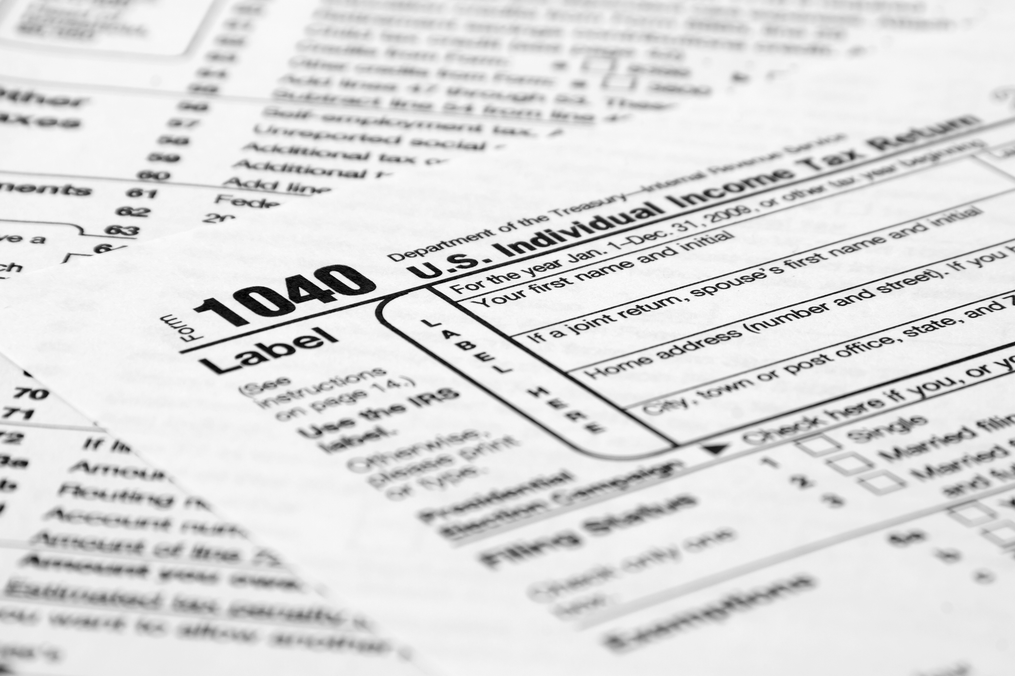 The importance of tax returns in divorce proceedings Norris – Tax Form
